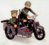 airgamboys 00245 - Moto con sidecar USA