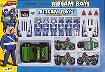 airgamboys 00272 - 6 policias con jeep y motos