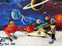 airgamboys 00286 - Alien Space Adventurer con robot