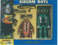 airgamboys 00403 - Alien verde + robot