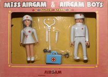 airgamboys 28211 - Miss Airgam y Airgam Boys enfermeros