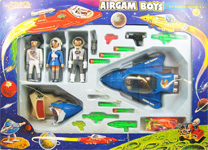 airgamboys 36302 - 3 Astronautas + vehiculos