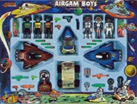 airgamboys 36604 - 3 Astronautas + 3 aliens space adventurer