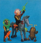 airgamboys 46283 - 2 Aliens con caballo robot