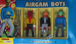 airgamboys 72301 - Drácula, Lucifer y Frankenstein