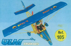 airgamboys 99105 - U.L.M. azul