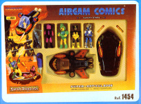 airgam comics Rank - Green Demon - Panther Man - Sirdar con Crest Boat y Aeroboat